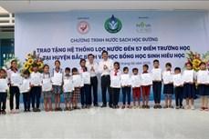 Tặng hệ thống nước sạch học đường cho huyện ven biển ở Bình Thuận