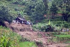 Mưa lớn gây thiệt hại nặng tại Hà Giang, hai người chết, một người bị thương