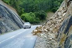 Mưa lũ gây nhiều thiệt hại tại Điện Biên