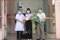 Dịch COVID-19: Bệnh nhân đặc biệt tại Đắk Lắk được xuất viện
