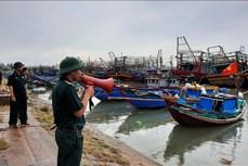 Bão số 5 đã suy yếu thành áp thấp nhiệt đới ; cần chú ý khi neo đậu tàu thuyền