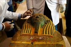 Ai Cập phát hiện hàng chục quan tài hơn 2.500 năm tuổi