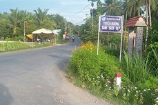 Tiền Giang công bố Chợ Gạo là huyện thứ hai đạt chuẩn nông thôn mới