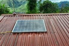 Mô hình chiếu sáng sử dụng năng lượng mặt trời ở Mù Cang Chải