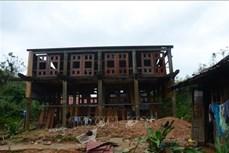 Sạt lở đất ở Hướng Hóa - Quảng Trị: Người Vân Kiều tiếc thương các chiến sĩ gặp nạn