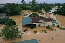 Lũ trên các sông từ Hà Tĩnh, Quảng Bình, Thừa - Thiên Huế đang xuống, nguy cơ sạt lở đất vẫn cao