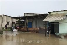 Bão số 9: Hàng chục nhà dân tại Phú Yên bị tốc mái, mất điện diện rộng