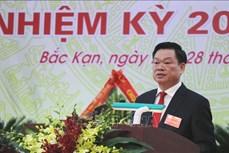Ông Hoàng Duy Chinh được bầu giữ chức Bí thư Tỉnh ủy Bắc Kạn