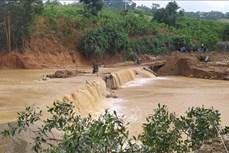 Vụ cứu hộ công nhân Thủy điện Đắk Mi 2 - Quảng Nam: Khoảng 10 người thoát ra khu vực bị mắc kẹt