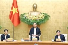 Họp Chính phủ Thường kỳ tháng 10: Thủ tướng Nguyễn Xuân Phúc yêu cầu đẩy nhanh tiến trình phục hồi kinh tế