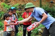 Huy động nguồn lực xã hội hỗ trợ trẻ em các xã đặc biệt khó khăn vùng dân tộc thiểu số và miền núi