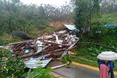 Lại xảy ra sạt lở núi tại Quảng Nam, vùi lấp 1 ngôi nhà, 1 người tử vong