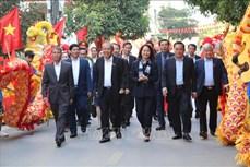 Phó Thủ tướng Thường trực Chính phủ Trương Hòa Bình dự ngày hội Đại đoàn kết toàn dân tộc tại tỉnh Lạng Sơn