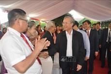 Thường trực Ban Bí thư Trần Quốc Vượng thăm các trường vùng cao đặc biệt khó khăn ở Yên Bái