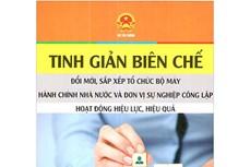 Năm 2021, Hà Nội giảm hàng nghìn biên chế