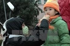 Lạng Sơn: Nhiều trường cho học sinh nghỉ học tránh rét