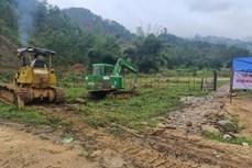 Quảng Nam: Xây dựng khu tái định cư cho đồng bào vùng sạt lở núi tại xã Trà Leng
