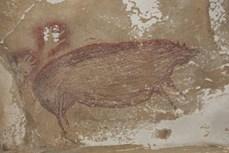 Phát hiện bức tranh hang động lâu đời nhất thế giới tại Indonesia