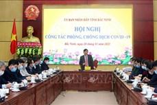 Dịch COVID-19: Bắc Ninh giãn cách xã hội toàn bộ xã Lâm Thao từ ngày 29/1