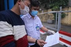 Từ ngày 18 đến 20/2, Hà Nội lấy mẫu xét nghiệm cho tất cả người về từ vùng có dịch COVID-19