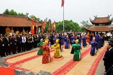 Giỗ Tổ Hùng Vương năm 2021 chỉ tổ chức các nội dung phần lễ, không tổ chức phần hội