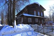 Vẻ đẹp cổ kính của những ngôi nhà hơn trăm tuổi ở Udmurtia, Liên bang Nga