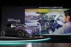 Honda cho ra mắt ô tô tự hành hiện đại nhất tại Nhật Bản