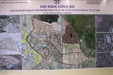 Hà Nội công bố quy hoạch phân khu nội đô lịch sử