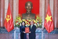 Bổ nhiệm ông Lê Khánh Hải làm Chủ nhiệm Văn phòng Chủ tịch nước