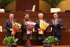 Kỳ họp thứ 11, Quốc hội khóa XIV: Quốc hội miễn nhiệm một số Phó Chủ tịch Quốc hội
