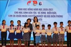 Hỗ trợ học sinh dân tộc thiểu số, con em ngư dân hoàn cảnh khó khăn ở Bạc Liêu