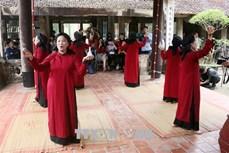 """Chương trình """"Hát Xoan làng cổ"""" - Sản phẩm du lịch đặc trưng tại Giỗ Tổ Hùng Vương 2021"""
