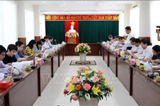 Kiểm tra công tác chuẩn bị cho bầu cử ở Ninh Thuận