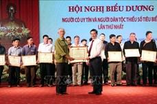 Tuyên Quang phát huy vai trò của người có uy tín và người dân tộc thiểu số