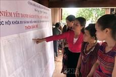 Kon Tum tuyên truyền bầu cử đến cộng đồng các dân tộc thiểu số vùng biên giới