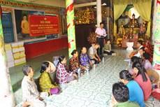Hậu Giang tăng cường tuyên truyền về bầu cử đến các địa bàn có đông đồng bào Khmer sinh sống