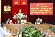 Chủ tịch Quốc hội Vương Đình Huệ dự Hội nghị trực tuyến toàn quốc quán triệt, giao nhiệm vụ và phát lệnh ra quân bảo đảm an ninh, trật tự Ngày bầu cử
