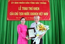 Cụ Trần Cang làm đẹp thêm hình ảnh người cao tuổi Việt Nam