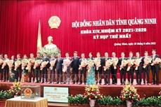 Chủ tịch HĐND tỉnh và Chủ tịch UBND tỉnh Quảng Ninh tái đắc cử