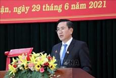 Ông Phạm Văn Hậu giữ chức Chủ tịch HĐND tỉnh Ninh Thuận