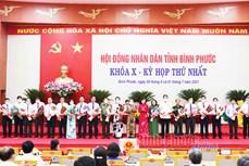 Bầu lãnh đạo chủ chốt HĐND và UBND tỉnh Bình Phước