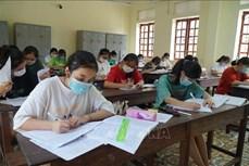 Đề xuất phương án xét tuyển sinh trong một lần, sau 2 đợt thi tốt nghiệp Trung học Phổ thông