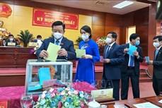 Ông Nguyễn Tiến Hải tái đắc cử chức Chủ tịch HĐND tỉnh Cà Mau