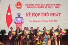 Ông Triệu Đình Lê được bầu làm Chủ tịch HĐND tỉnh Cao Bằng