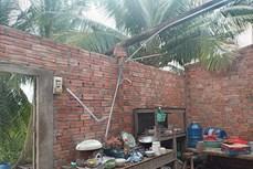 Bình Thuận khẩn trương kiểm tra, khắc phục thiệt hại do mưa gió, lốc xoáy