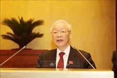 Tổng Bí thư Nguyễn Phú Trọng: Tiếp tục nâng cao hơn nữa chất lượng và hiệu quả hoạt động của Quốc hội trong giai đoạn mới
