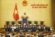 Kỳ họp thứ nhất, Quốc hội khóa XV: Bầu lãnh đạo các cơ quan của Quốc hội