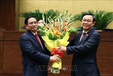 Ông Phạm Minh Chính được bầu giữ chức Thủ tướng Chính phủ nhiệm kỳ 2021 - 2026