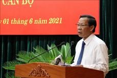 Ông Phan Văn Mãi được bầu giữ chức Chủ tịch UBND Thành phố Hồ Chí Minh