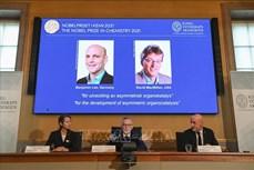 Giải thưởng Nobel 2021 về hóa học đề cao nghiên cứu về hình thức xúc tác